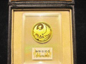 K24 天皇陛下御即位記念 10万円金貨