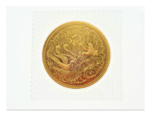 K24 天皇陛下御在位六十年記念 拾万円金貨