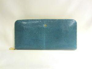ロエベ「リザード ラウンドファスナー長財布」買い取りました!