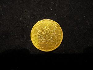 K24C メイプルリーフコイン 1oz
