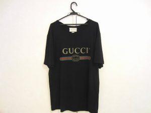 グッチ ロゴ ウォッシュドオーバーサイズ Tシャツ