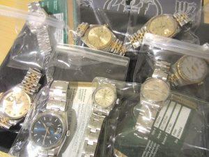 ロレックス 腕時計 大量まとめ